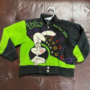 The RR Designs Trix Cereal Racing Bomber Size M
